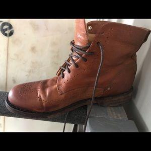 Rag and bone boots cognac color